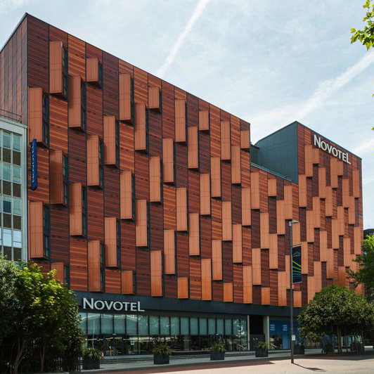 Novotel and Olympic Way, Wembley